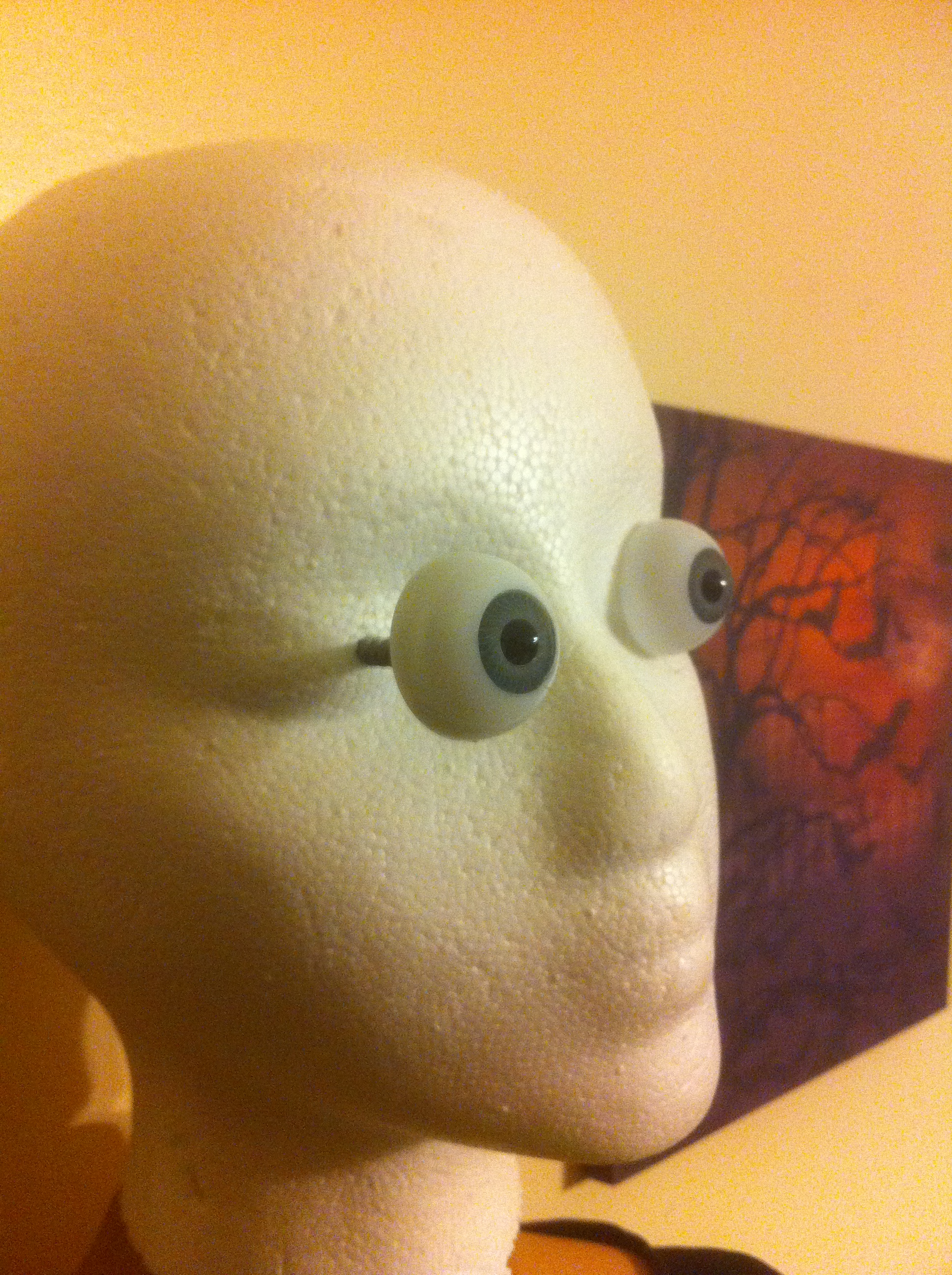styrofoam head with eyes - Spirit Halloween Medford Ma